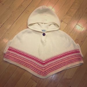 Baby gap girls poncho